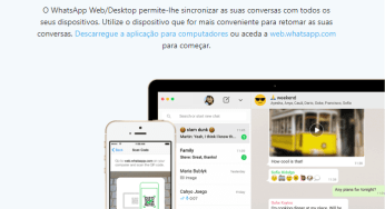 Como parear whatsapp do celular com whatsapp web