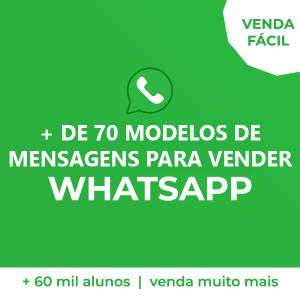 de 70 modelos de Vendas para WhatsApp