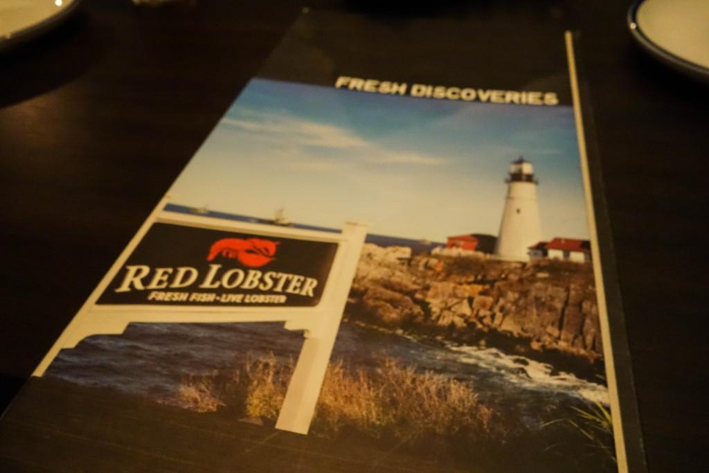 Restaurant menu ; seafood restaurant