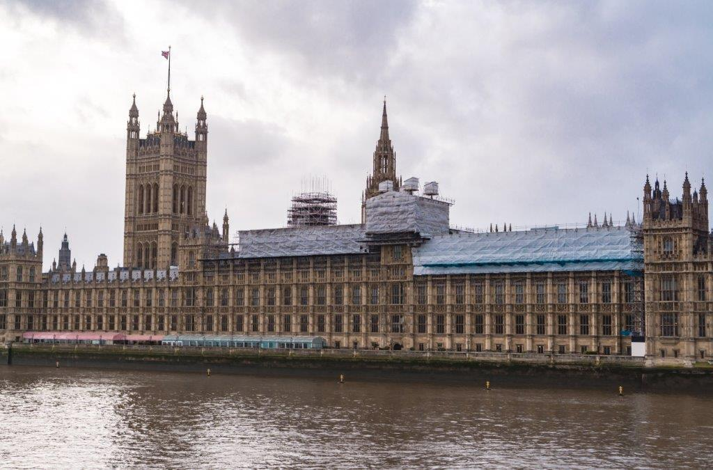 Houses of Parliament places in london