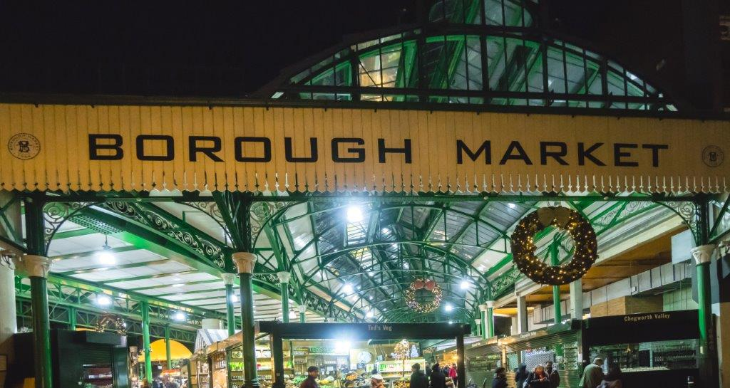 Borough Market major attractions in london