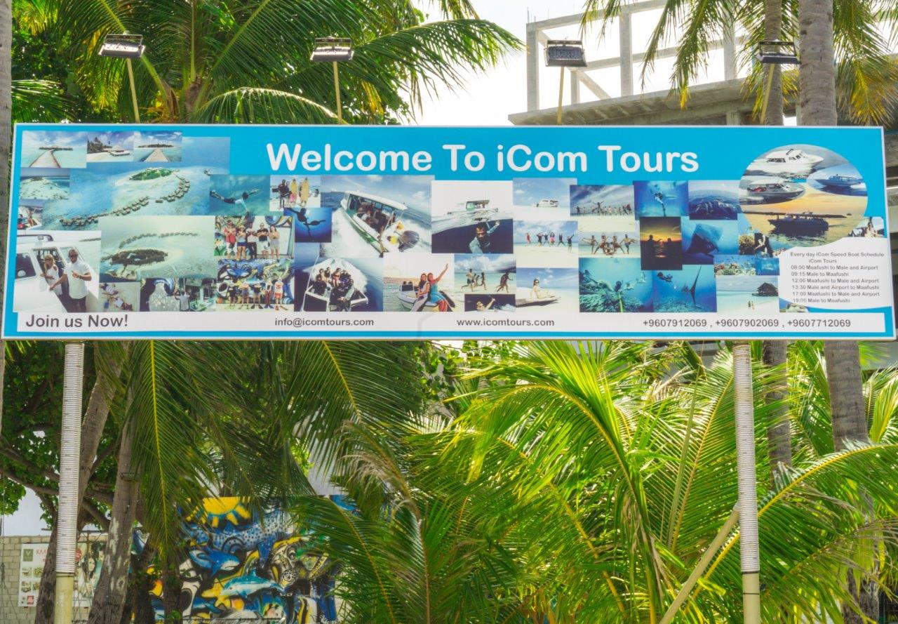 iCom Tour male to maafushi maafushi tours male to maafushi speedboat