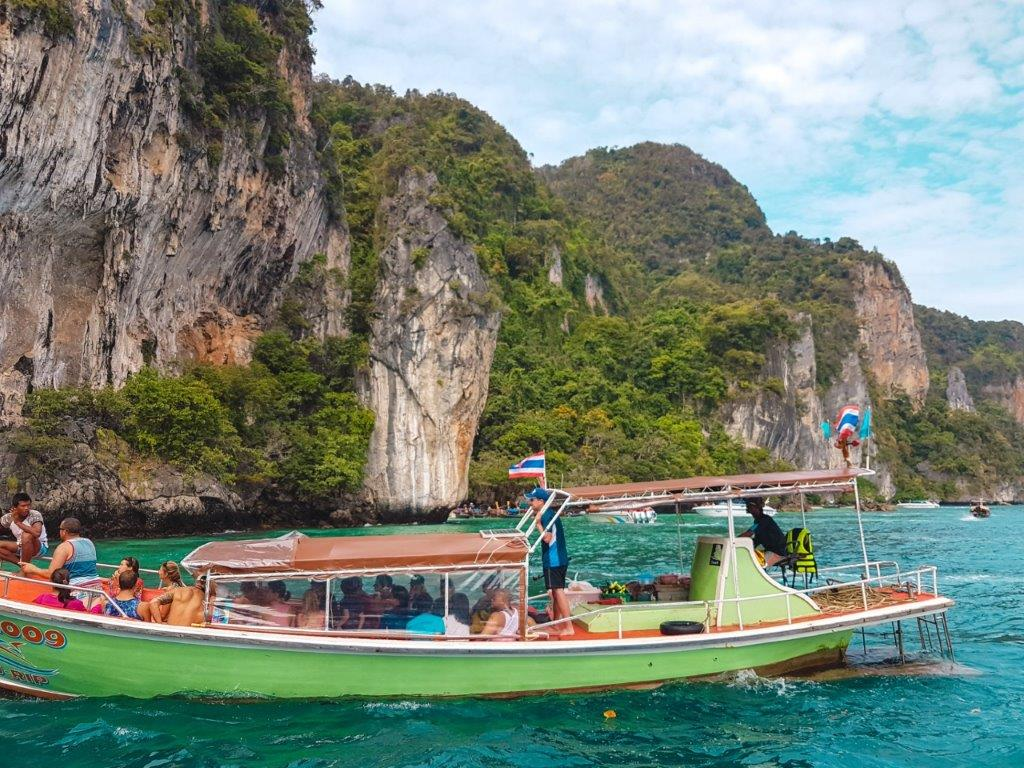 Pileh Lagoon, to do in phi phi island, ko phi phi snorkeling tour