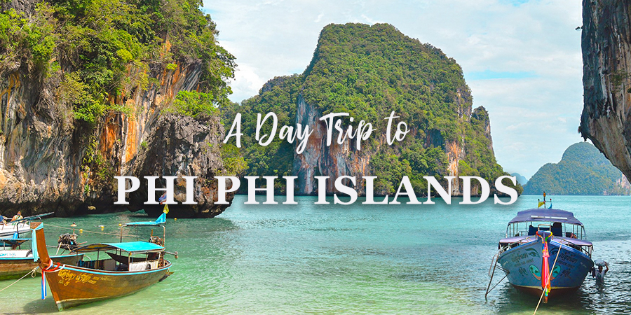 phi phi island day trip, getting to phi phi island