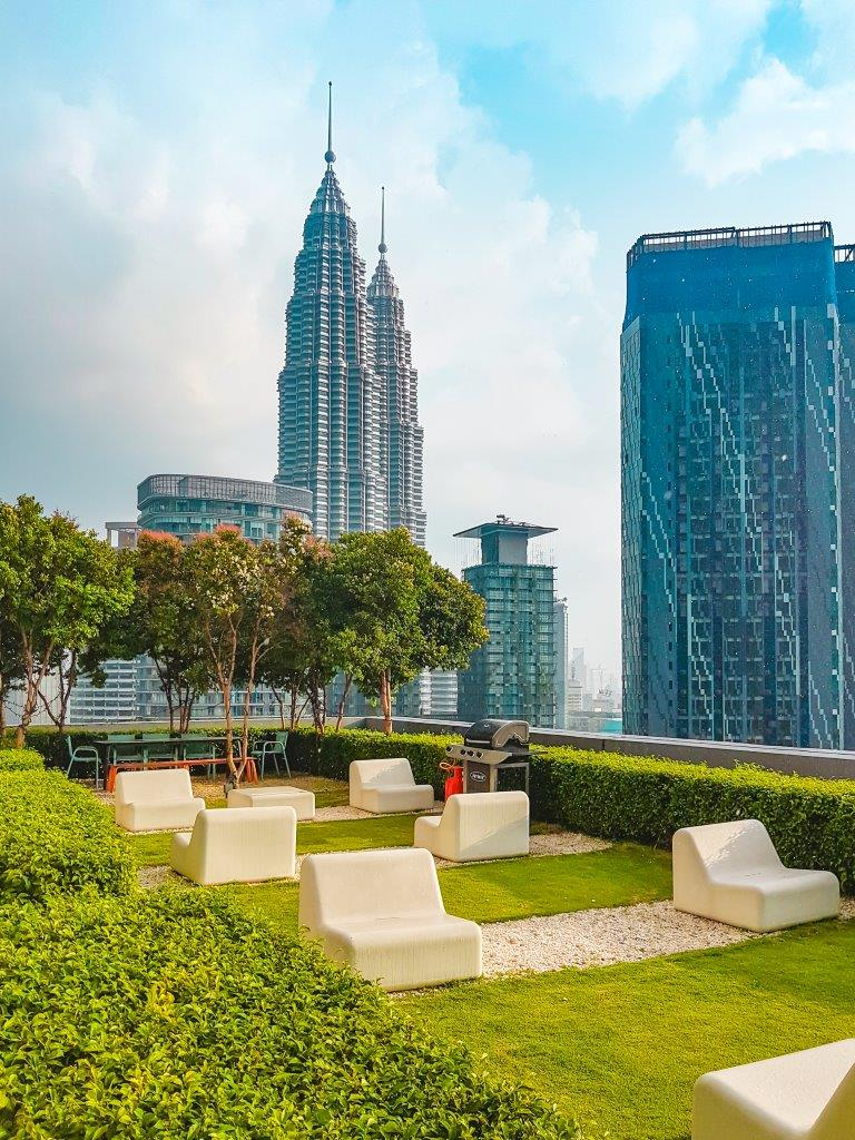 luxury apartment in kl, Twin Towers