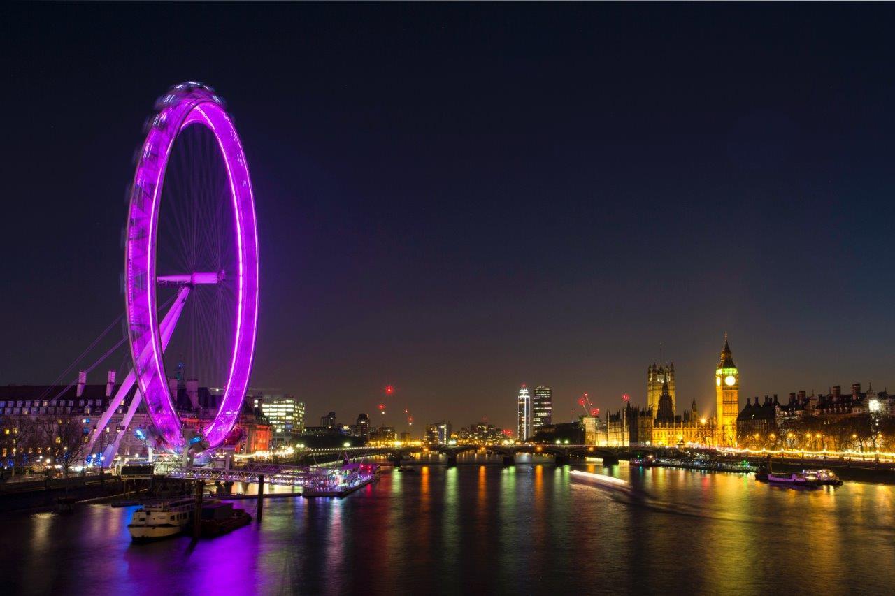 London eye new year