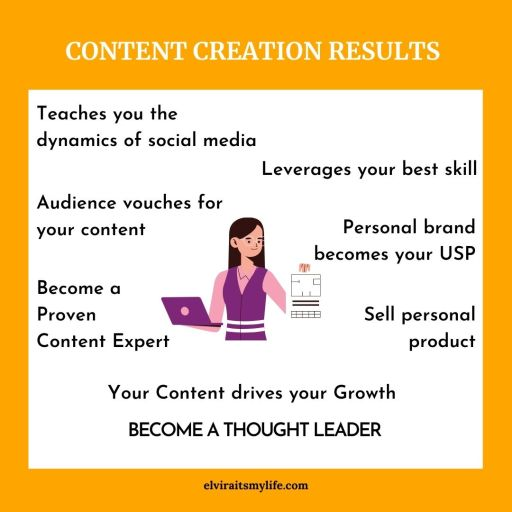 make personal brand by thought leader, content expert