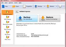 電腦還原軟體 FBackup
