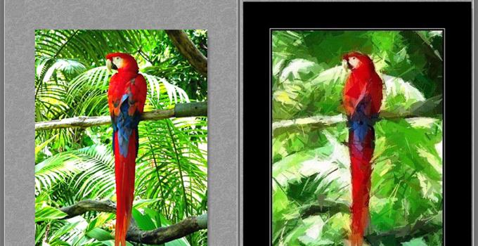 相片轉油畫軟體 FotoSketcher 免安裝版