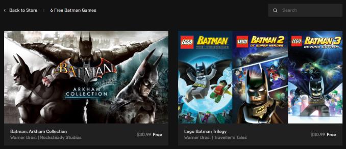 蝙蝠俠遊戲大放送 阿卡漢系列&樂高系列限時免費下載