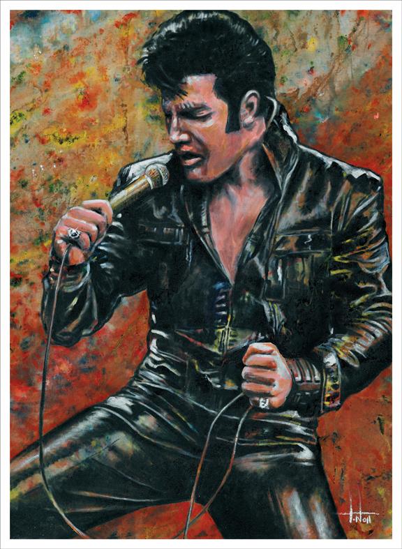 Elvis Presley Art Works 15 Amazing Paintings Elvis Presley