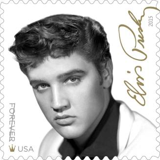 Elvis Presley Forever Stamp