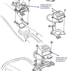 Airbag Wiring Diagram Audi A4 Square D 30 50 Pressure Switch Impact Sensor Harness Manual E Books Air Bag Crash Module Removal Elv Solutionscrash Remove 1