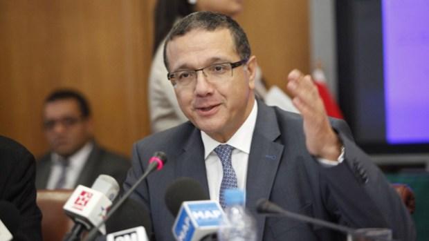 وزير الاقتصاد والمالية محمد بوسعيد