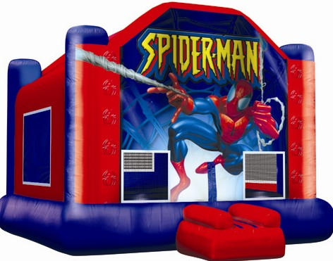 spiderman table and chairs spandex chair covers for folding ely party rentals dallas texas bounce houses jumpers tables margarita machine popcorn cotton candy inflatables