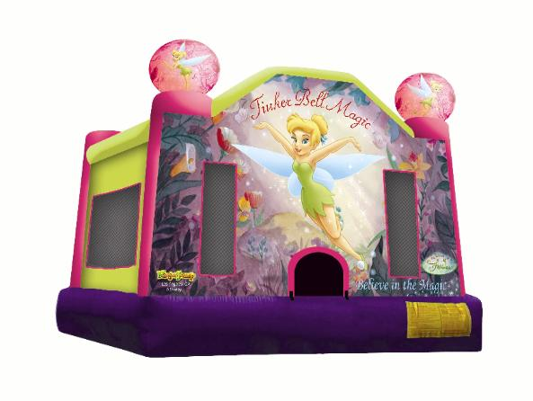 chair cover rentals dallas texas cloth covers home ely party bounce houses jumpers tables tinkerbell jumper rental is one of the hottest we have