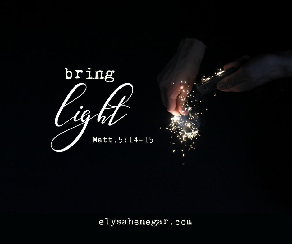 light *on*