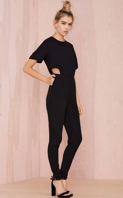 Asilio Step Aside Cutout Jumpsuit at NastyGal