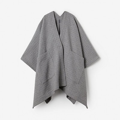 Basketweave Poncho by GREI at stevenalan.com