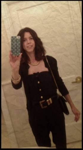 Me In A Friend's Jumpsuit At A Wedding In Sept.