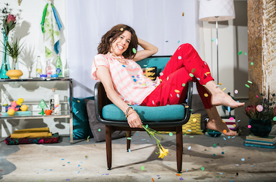 Personal Stylist tips on how to color pop your look to brighten up both your outfit and mood. Photo: Here With You Photography, Prop styling by yellow house collective