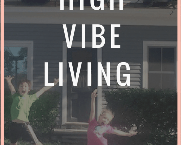 To live on a high vibe is when thoughts and actions align with the true self to elevate energy into a positive vibration. It's you as your most awesome. Click through to read how it's done.