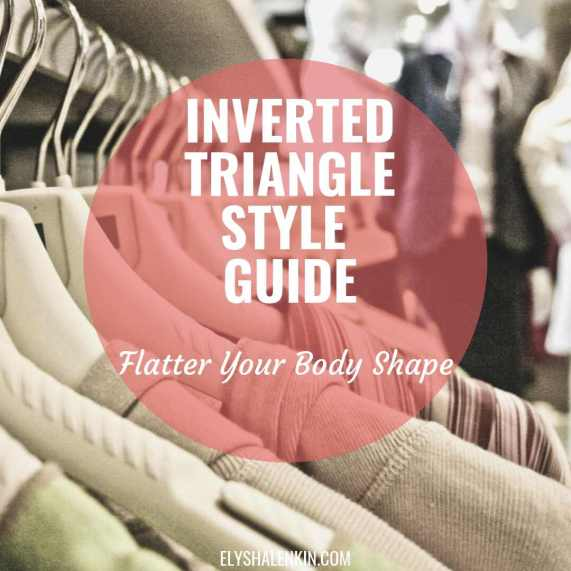 Inverted Triangle Style Guide Flatter Your Body Shape clothing on hangers