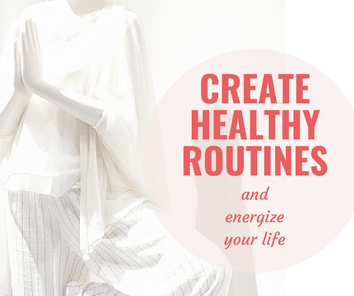 If you're feeling a little bit BLAH, and want to know how to motivate yourself for the new season, then read on for my tips of creating healthy habits!