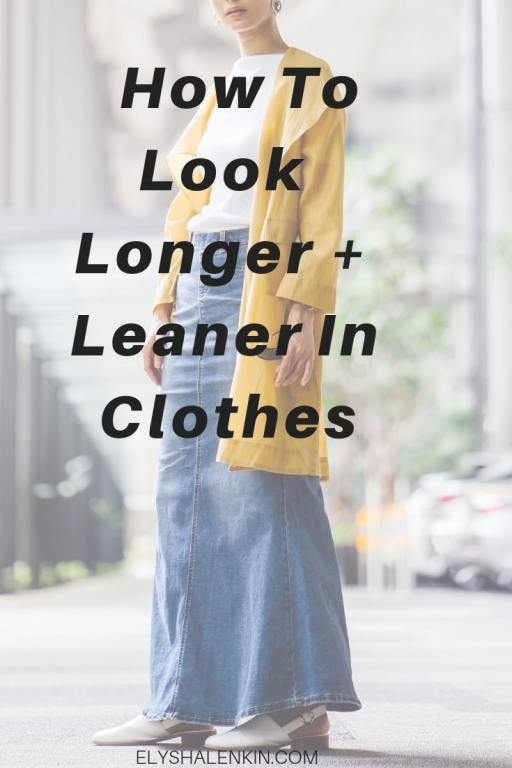 If you want to look taller and slimmer, these women's style tips will help. I share my style advice that explains the figure flattering ways to use the style details of your outfit to impact the illusion of what you're wearing. Your clothes will flatter your body. You'll look taller. You'll feel slimmer. And you'll know how to recreate the illusion using different items in your wardrobe. #womensstyle #whattowear #personalstyle