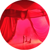 Red Tent Rotes Zelt