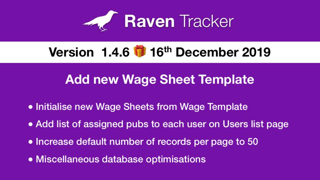 Raven Tracker 1.4.6