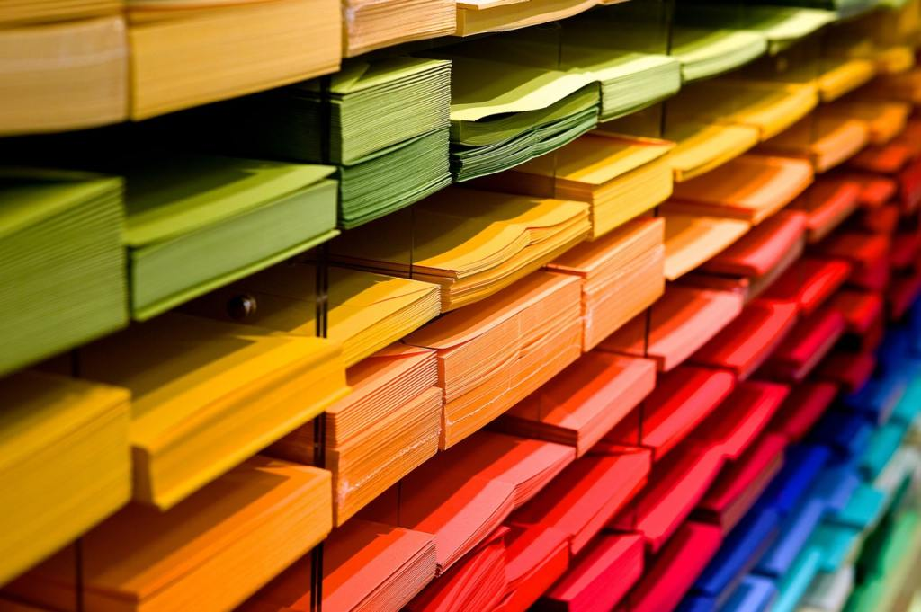 Colourful Paperwork
