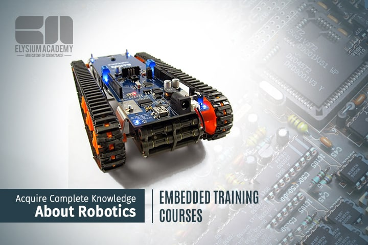 Acquire Knowledge About Robotics Via Embedded Training Courses
