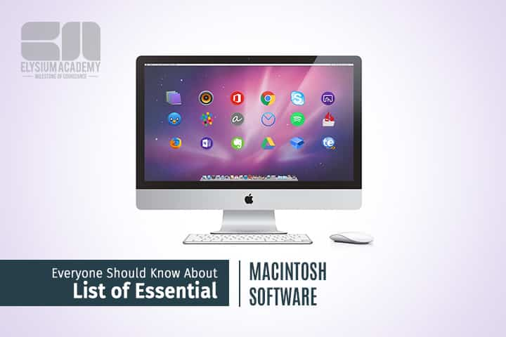List of Macintosh Software