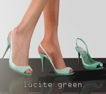 GRace vendor - lucite green