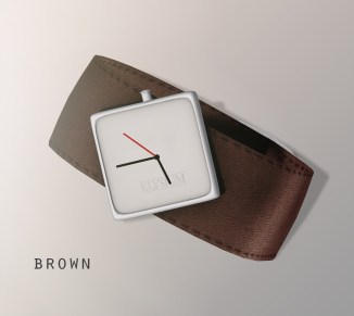 Oliver watch - brown