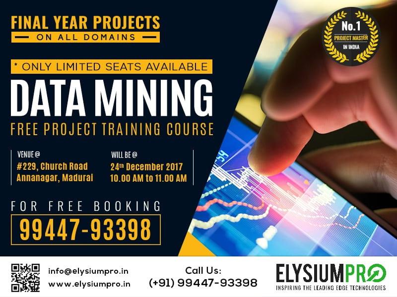 Data Mining Projects for Final Year Students