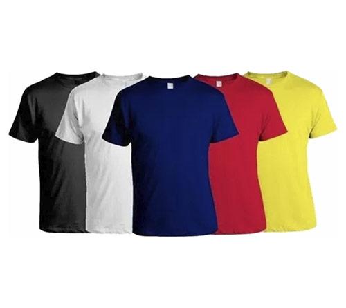 Camisa de malha branca