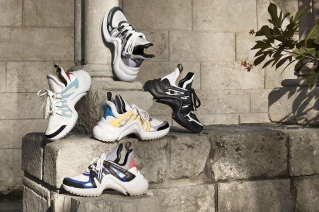 Louis Vuitton abre una tienda pop-up de zapatillas en Nueva York