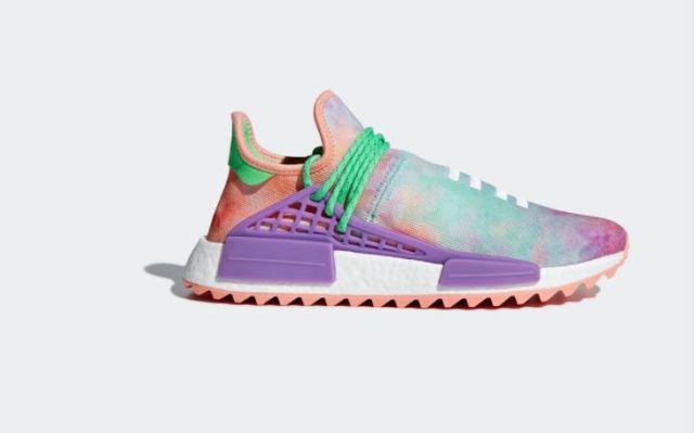 Adidas lanza una nueva colección de Pharrell Williams inspirada en el festival Holi