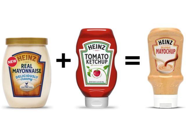 Mayochup, la nueva creación de Heinz que mezcla ketchup y mahonesa