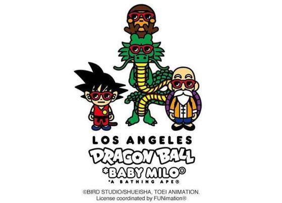Dragon Ball x BAPE 2018