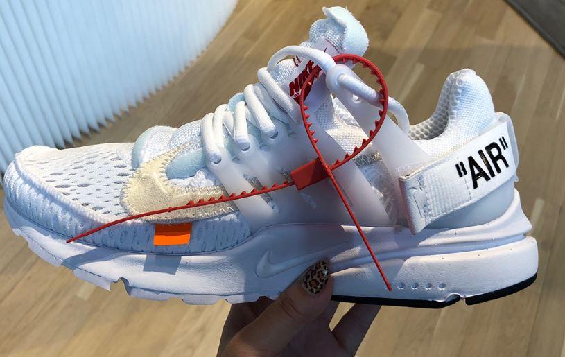 e12a984490a Las OFF WHITE x Nike Presto 2018 se lanzarán el próximo 21 de junio ...