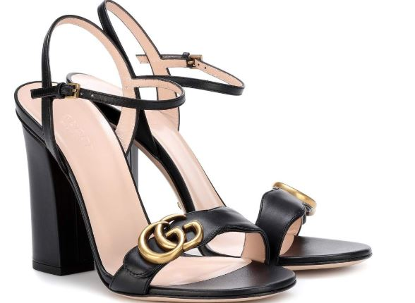 sandalias retro de Gucci