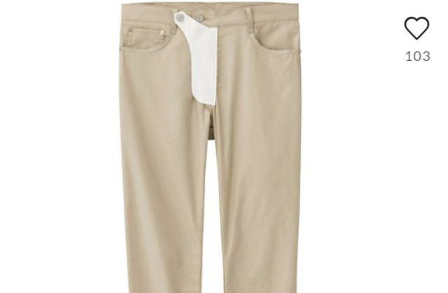 Usar pantalones con un bolsillo para el pene, nueva tendencia