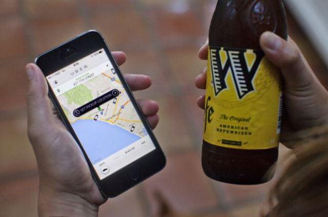 Uber trabaja en una patente para buscar a pasajeros borrachos