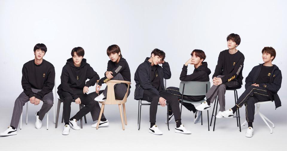BTS X Puma 2018