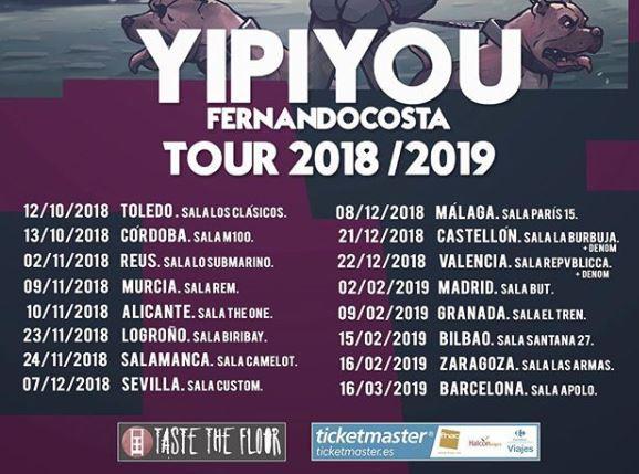 conciertos de Fernando Costa