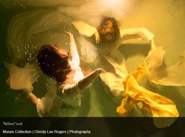 fotografía subacuática artística