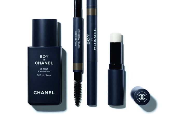 maquillaje para hombres Chanel